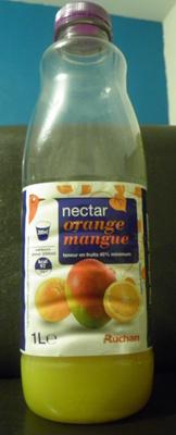 Nectar Orange-Mangue Auchan