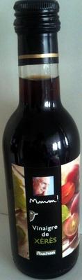 Vinaigre de Xérès Mmm! Auchan