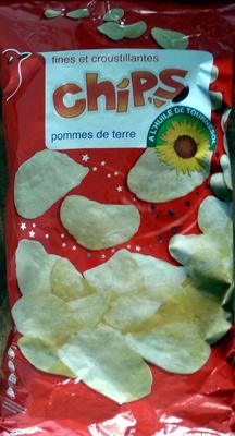 Chips à l'huile de tournesol