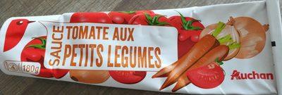 Sauce tomate petits légumes