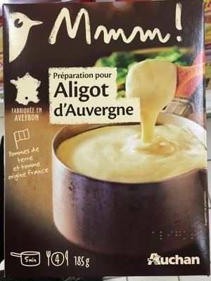 Préparation pour Aligot d'Auvergne