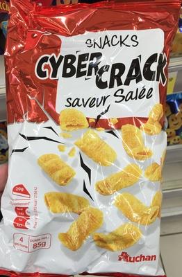 Snacks Cyber Crack saveur salée