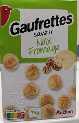 Gaufrettes Noix Fromage