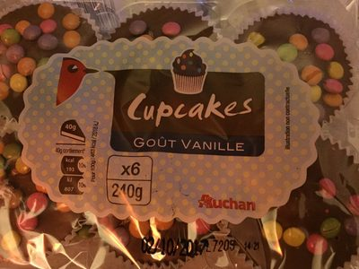 Cupcakes Goût Vanille