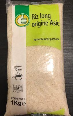 Riz long origine asie