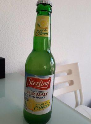 BIÈRE SANS ALCOOL au jus de citron