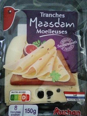 Tranches Maasdam moelleuses