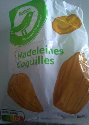 Pouce Madeleines Coquilles
