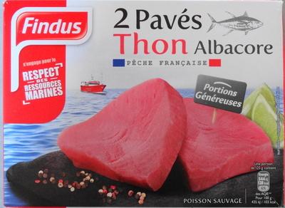 2 Pavés Thon Albacore