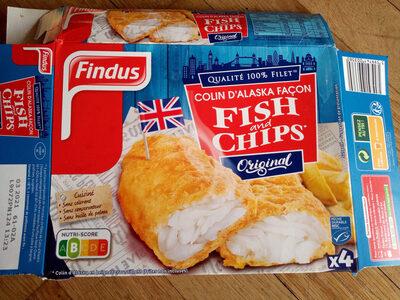 Colin d'Alaska Fish & Chips Original