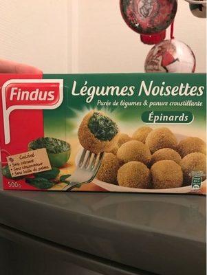 Légumes Noisettes Epinards