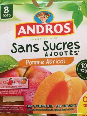 Compote pomme abricot sans sucres ajoutés