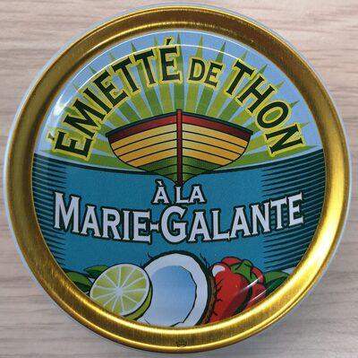 Emietté de thon à la Marie-Galante (noix de coco, citron vert)