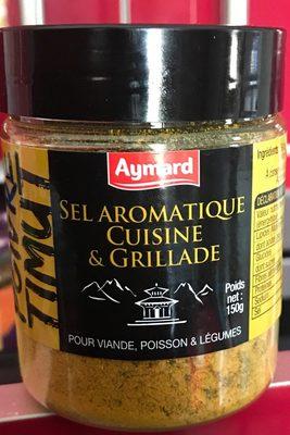 Sel aromatique cuisine et grillade