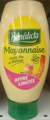 Mayonnaise aux oeufs frais