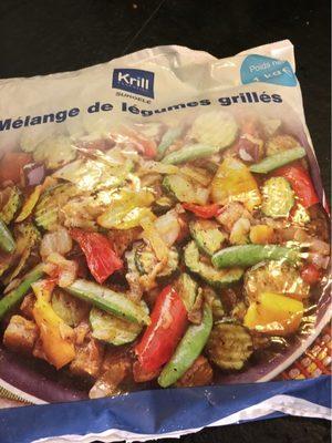 Melange de legumes grilles