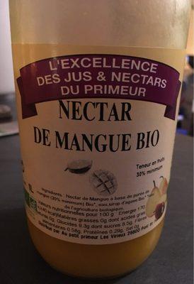 Nectar de mangue bio