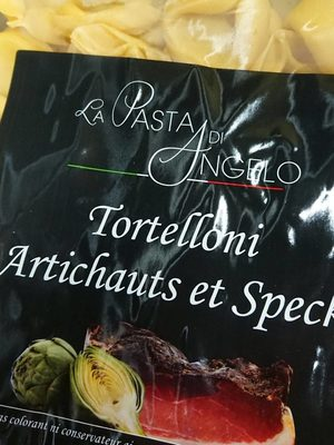 Tortelloni artichauts et speck