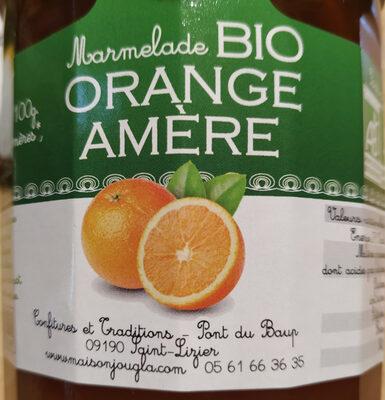 Confiture extra d'oranges amères  bio