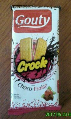 GOUTY CROCK Choco Fraise