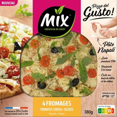 Pizza del Gusto - 4 Fromages