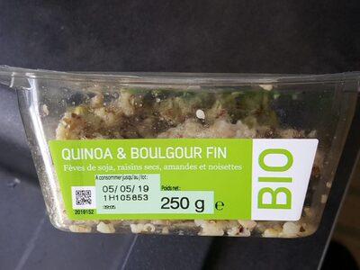 Quinoea & Boulgour bio