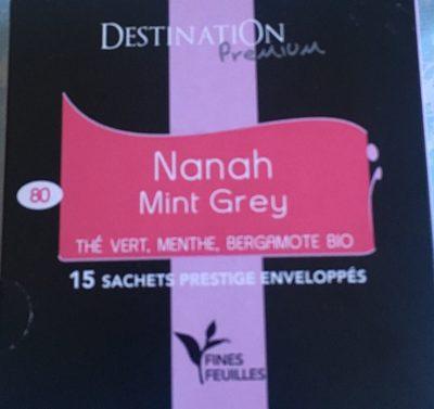 Nanah Mint Grey Thé Vert Menthe Bergamote