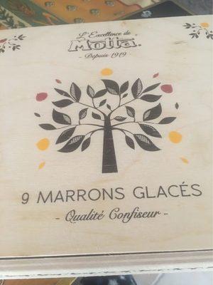 9 Marrons Glacés