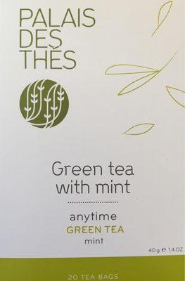 Palais Des Thes Green Tea With Mint 20 Tea Bags 40G / 1.4oz