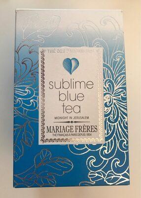 Sublime blue tea - Midnight in Jerusalem
