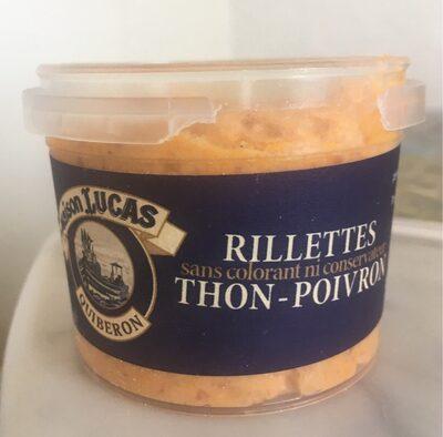 Rillettes Thon-Poivron