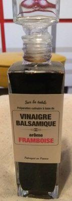 Vinaigre balsamique Framboise