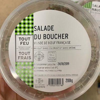Salade du boucher