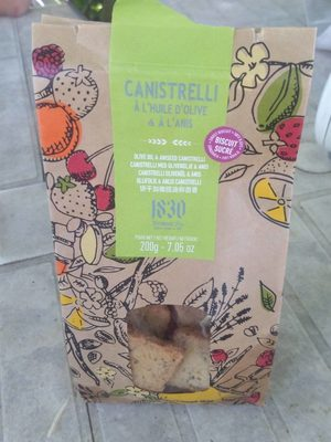 Canistrelli olive et anis