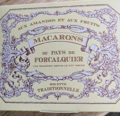 Macarons du pays de forcalquier