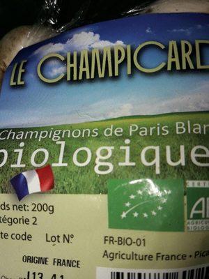 Champignons de Paris Blancs