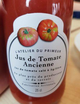 Jus de tomate ancienne