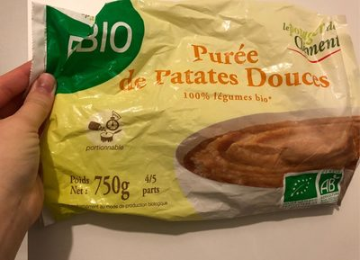 Purée de patates douces Bio