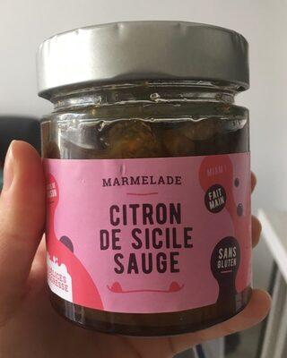 Marmelade Citron de Sicile Sauge