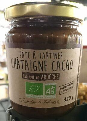 Pâte à tartiner châtaigne cacao