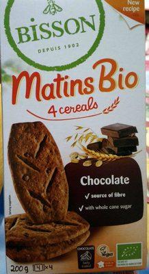 Matins bio 4 céréales chocolat
