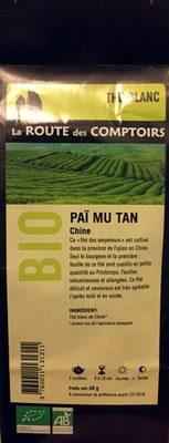 Paï Mu Tan Chine bio