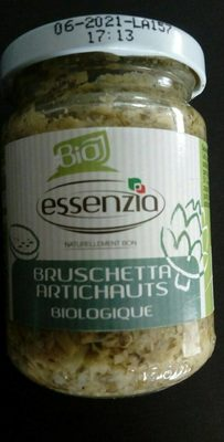 Bruschetta Artichauts biologique
