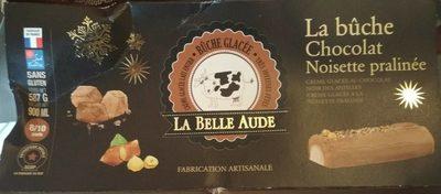 La Bûche Chocolat Noisettes Praliné