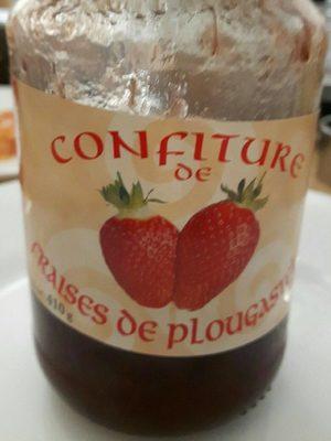 Confitures de fraises de plougastel