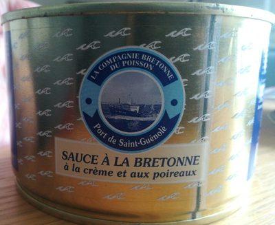Sauce à la Bretonne, crème et poireaux
