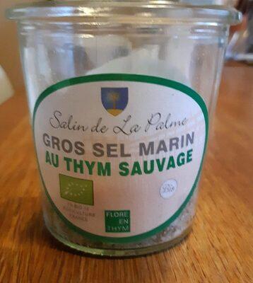 Gros sel marin au thym sauvage