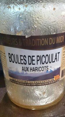 Boules de Picoulat aux haricots