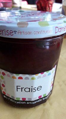 Confiture artisanale bretonne Fraise
