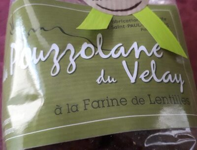 La Pouzzolane du Velay à la farine de lentilles